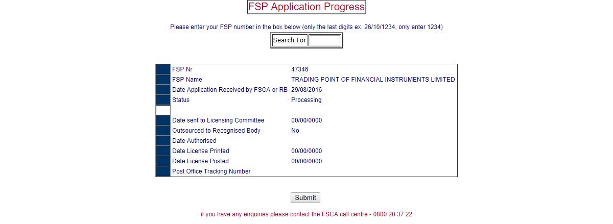 XM broker Regulation with FSCA