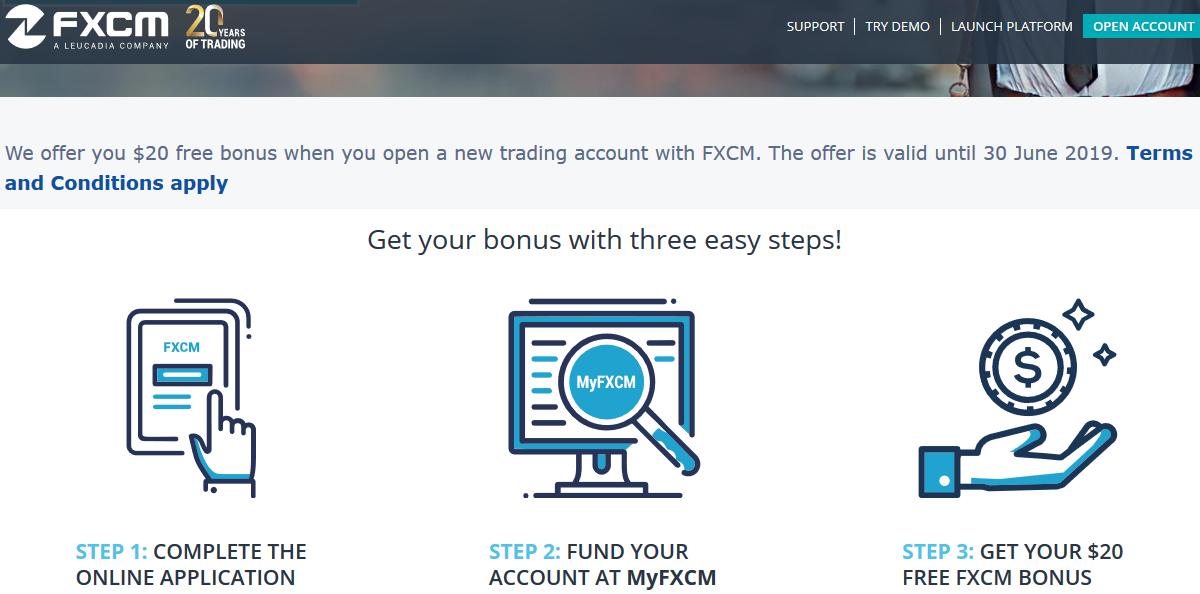 FXCM Bonus